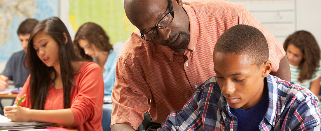 Teachers help create positive environments for students.