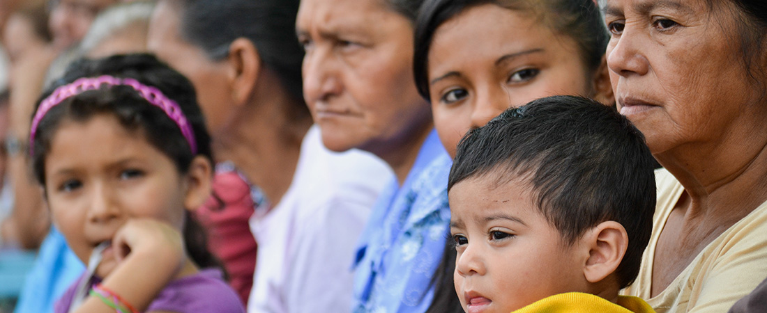 Central American families struggle to address the violence and poverty of their communities.