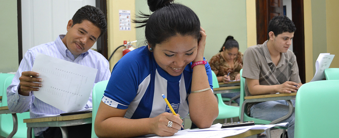 Learners using the ELA program.