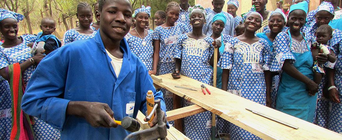 Participants of PAJE-Nièta in Mali.