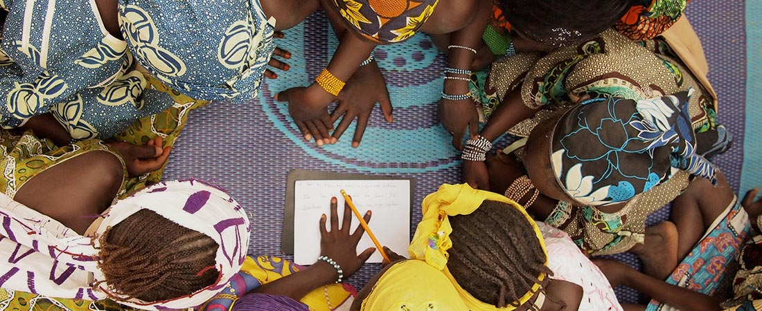 The PHARE program in Mali enables girls like these to go to school