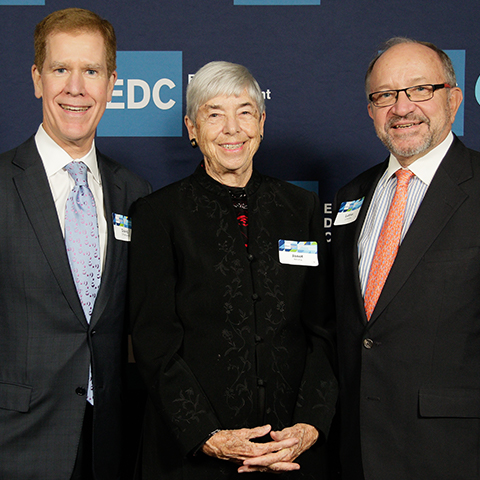 Three EDC Presidents were in attendance: David Offensend, Janet Whitla, and Luther Luedtke.