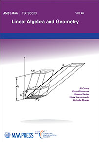 Cover of Linear Algebra and Geometry