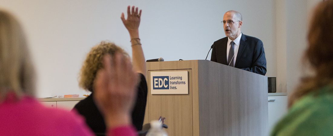 A photo of EDC's David Jacobson