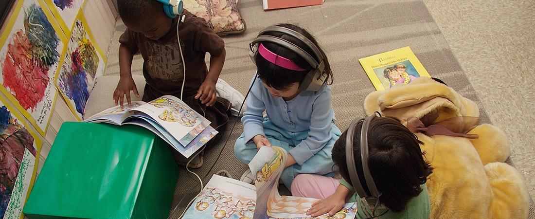 A photo of a preschool classroom