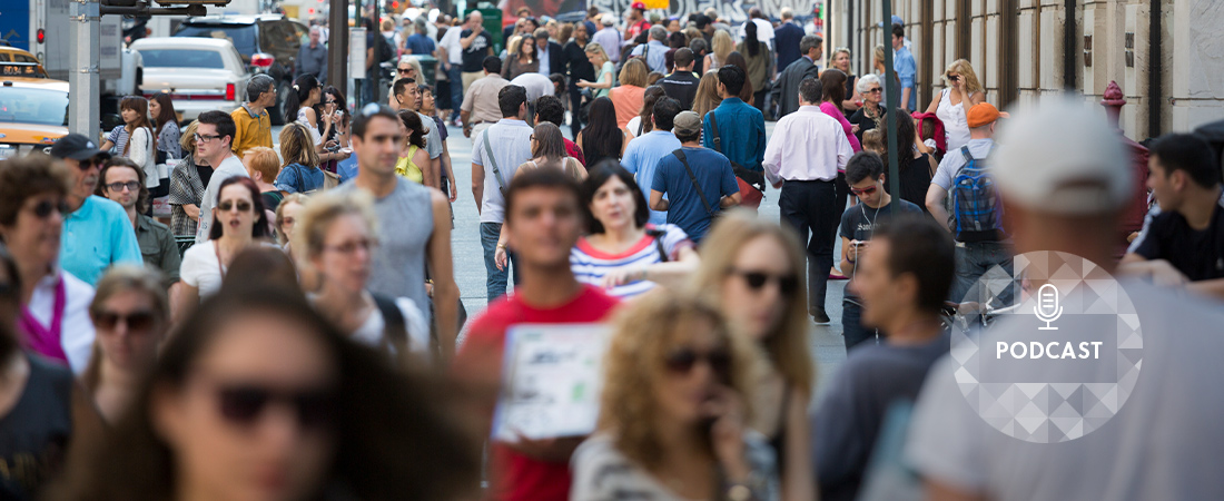 A photo of a crowd representing The Suicide Rate Just Rose Again. What Does That Mean for Prevention?