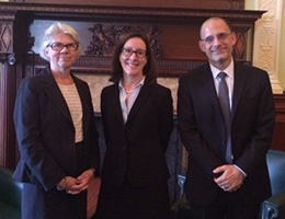 Photo of Alice Peisch, Diane Schilder, and David Jacobson