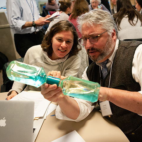 Science learning was front and center during the Summit.