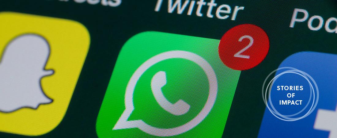 A screenshot of WhatsApp
