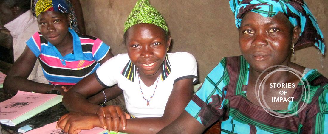 A photo of women in Mali