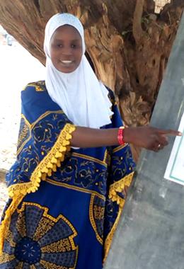 A photo of Salma Agbdou