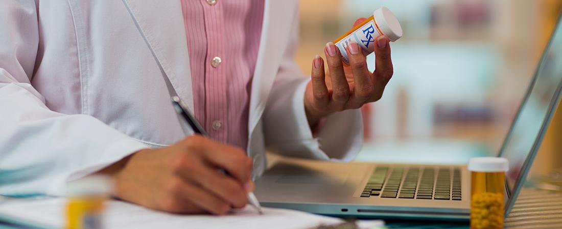An image representing prescription drug misuse