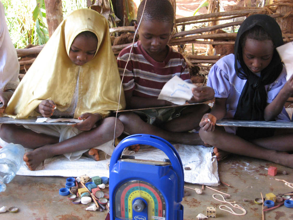 Students taking part in EDC's USAID-funded RISE project