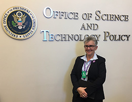 A photo of EDC's Pam Buffington