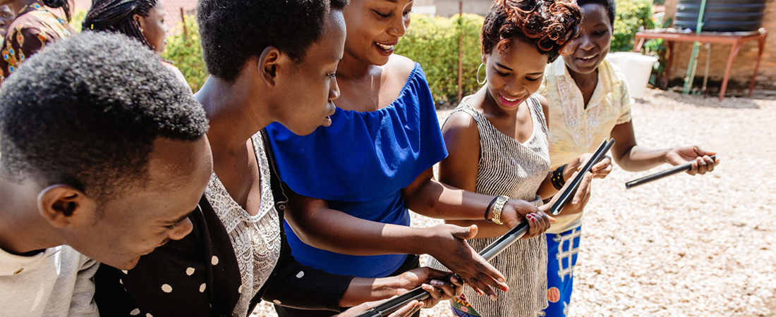 A photo from Rwanda representing EDC Youth Projects Featured in USAID Review on Soft Skills