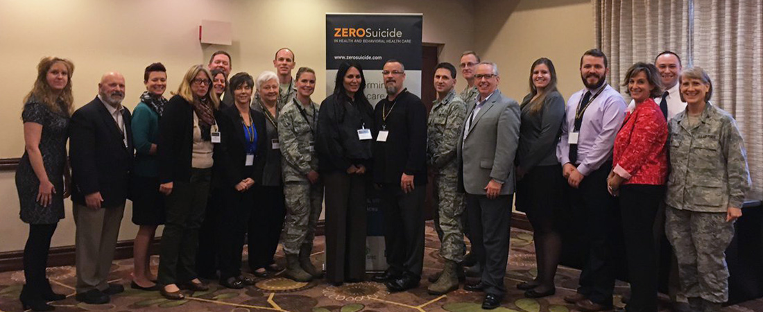 Photo of Zero Suicide Academy staff