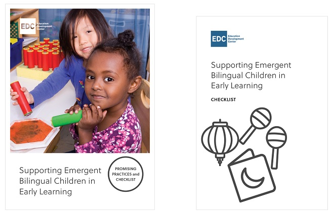 "Cover art of ""Supporting Emergent Bilingual Children in Early Learning"""