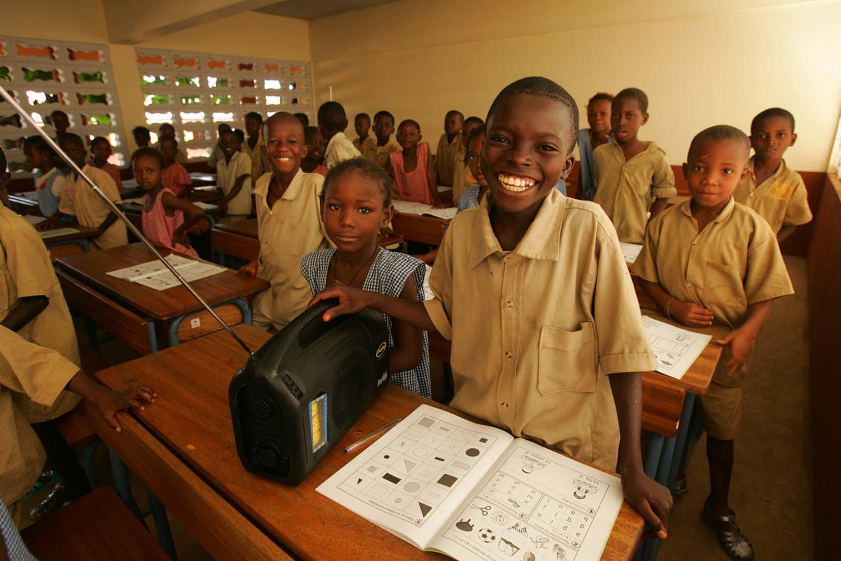 EDC's IRI project in Guinea