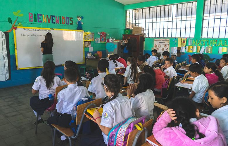 A photo from Honduras representing Literacy Can't Be Taken For Granted