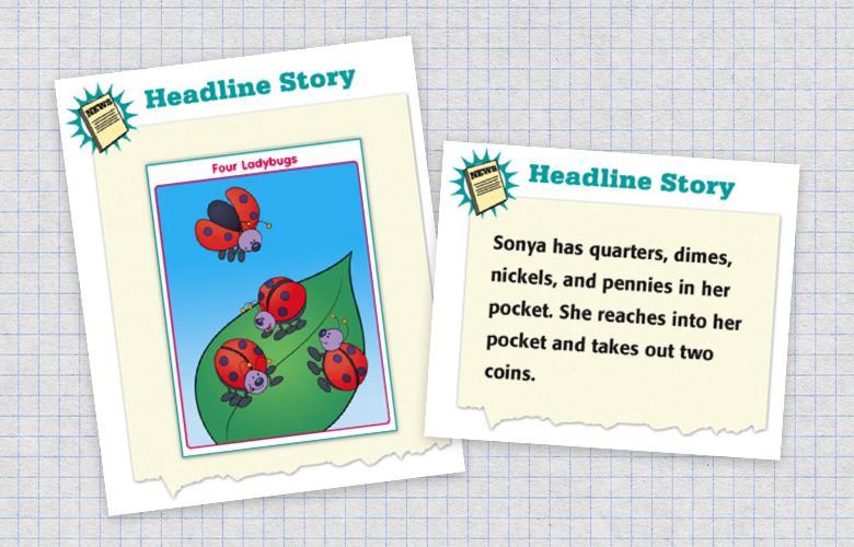 Screenshot of a Headline Story