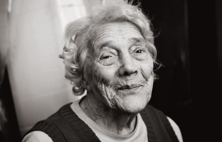 A photo of a senior representing Honoring World Elder Abuse Awareness Day