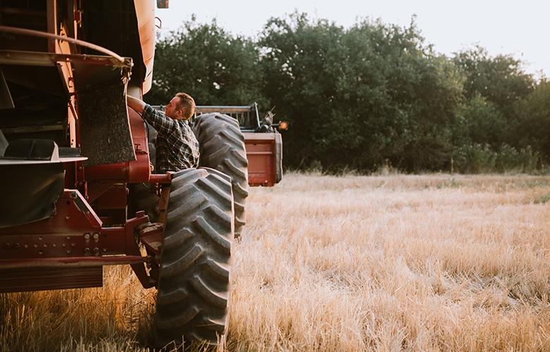 A photo of a tractor representing Understanding Rural Suicide Prevention – 3 Key Points