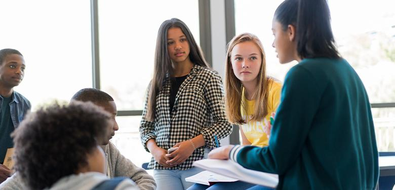A photo of students representing Why Social-Emotional Learning Now?