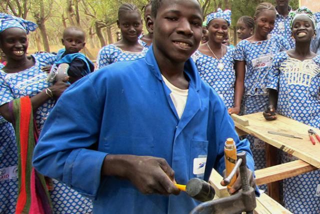 Participants of PAJE-Nièta in Mali.
