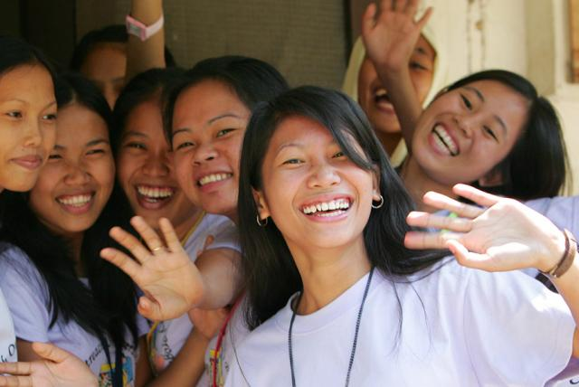Young women in the Phillipines