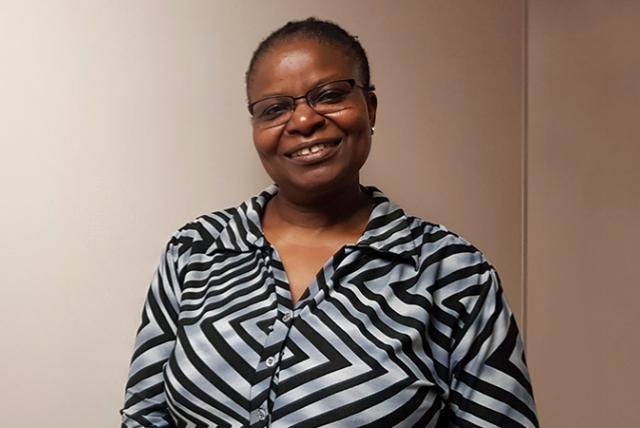A photo of EDC's Naomi Mnthali