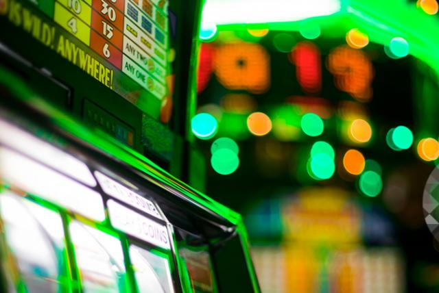 A photo of slot machine representing Preventing Problem Gambling in Massachusetts