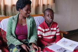 Families reading at home is just one way a culture of reading is growing in Rwanda.