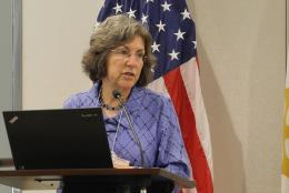 A photo of EDC's Abigail Jurist Levy