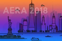 2018 Annual Meeting of the American Educational Research Association banner