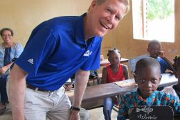 A photo of David Offensend in Mali