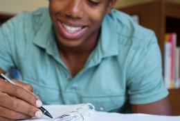 A photo of a youth representing EDC to Study Education of Massachusetts Youth in Juvenile Justice Custody and Care