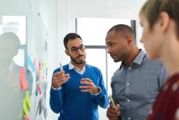 A photo of classroom representing Building a Continuous Improvement Team