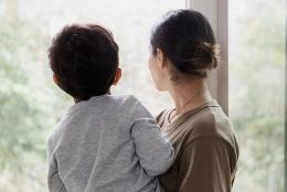 A photo of parent and child representing Advancing the Work of Trauma-Informed Care
