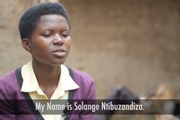 A photo of Solange Ntibuzandiza