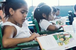 A photo from Honduras Reading Activity