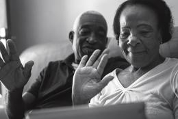 A photo of an elder couple representing Why COVID-19 May Increase Elder Abuse—And How We Can Prevent It