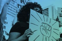 A photo of a protest representing 3 Ways Schools Can Support Racial Equity