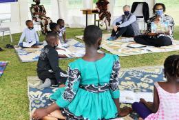 A photo from Uganda representing Overcoming Learning Loss in Uganda