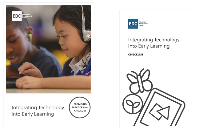 "cover of ""Integrating Technology into Early Learning"""